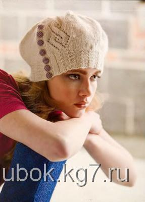 Шапочка Argyle Lace Hat